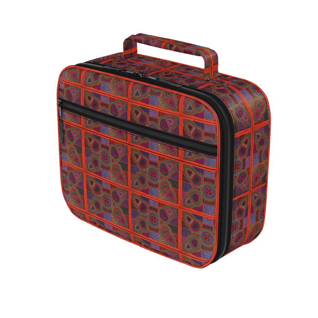 Kuna Mola Pattern - Lunch Box