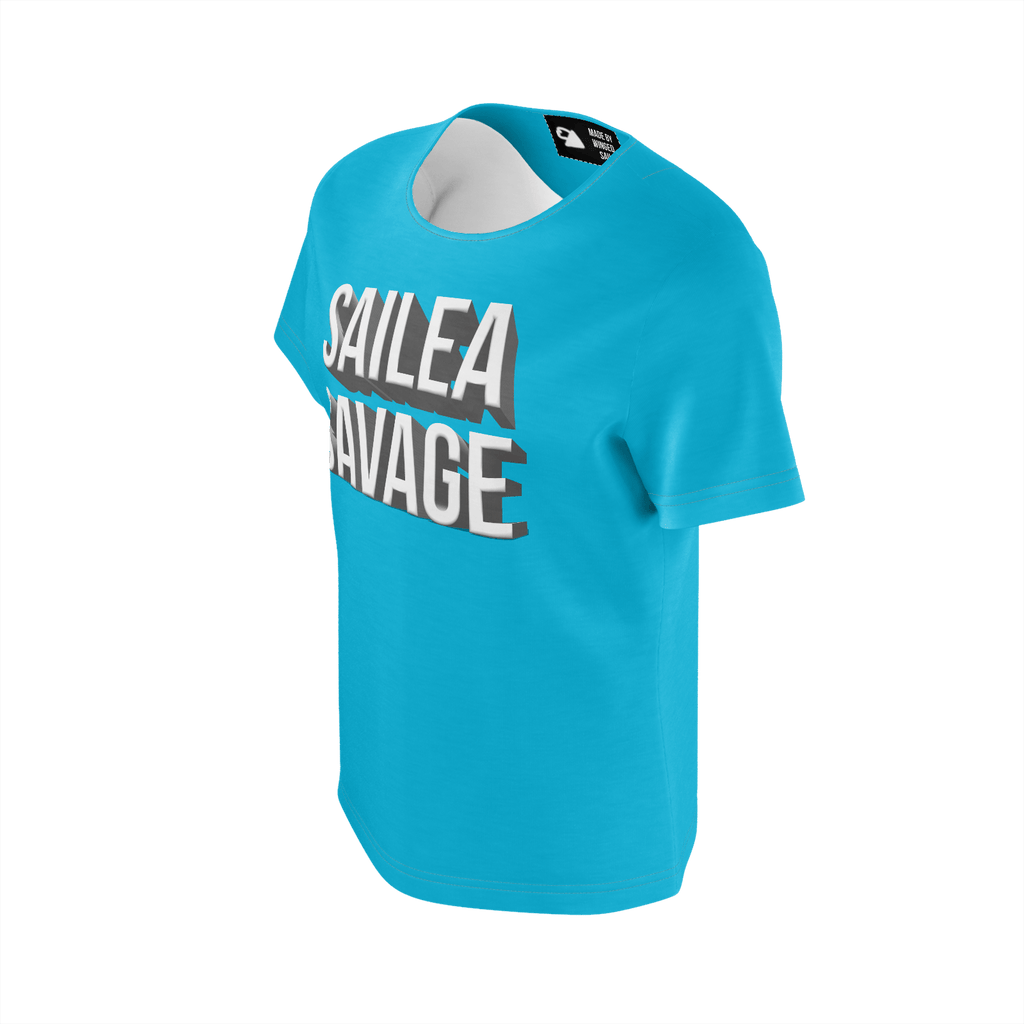 Sailea Savage Blue Youth Girls Tee
