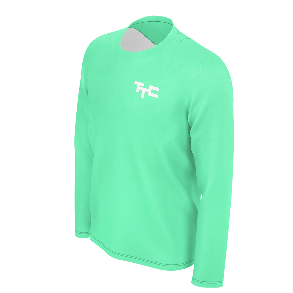 Tap Tap Click Logo Men's Long Sleeve