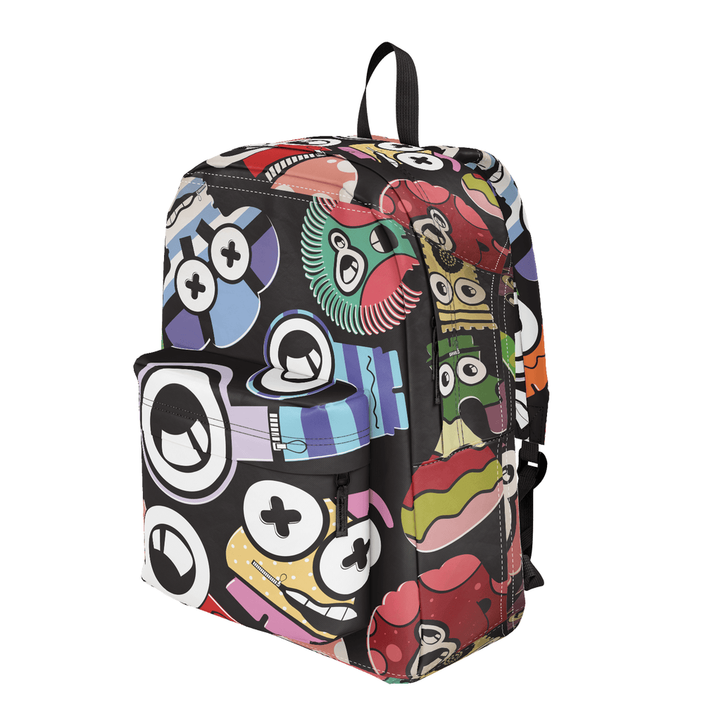 School Bus Aliens Backpack 28
