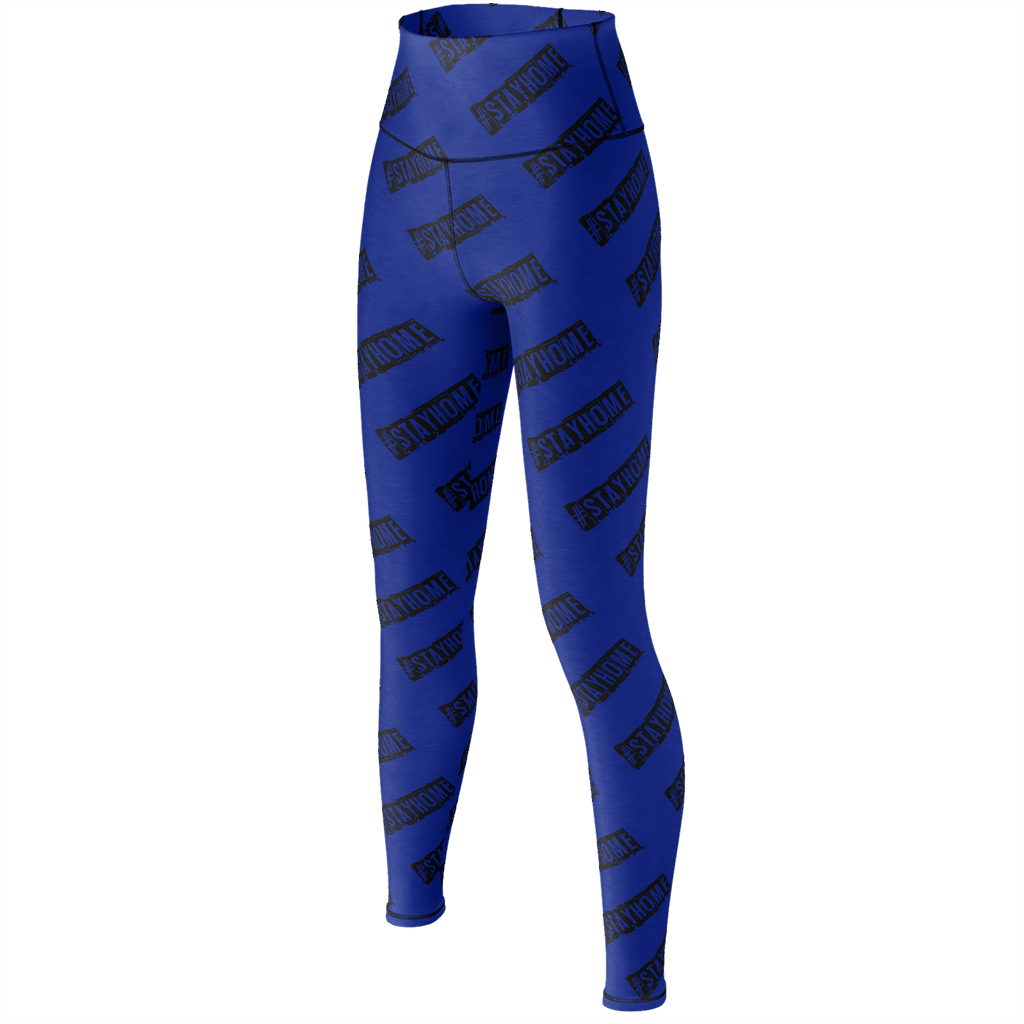 #StayHome Yoga Pants (Navy)