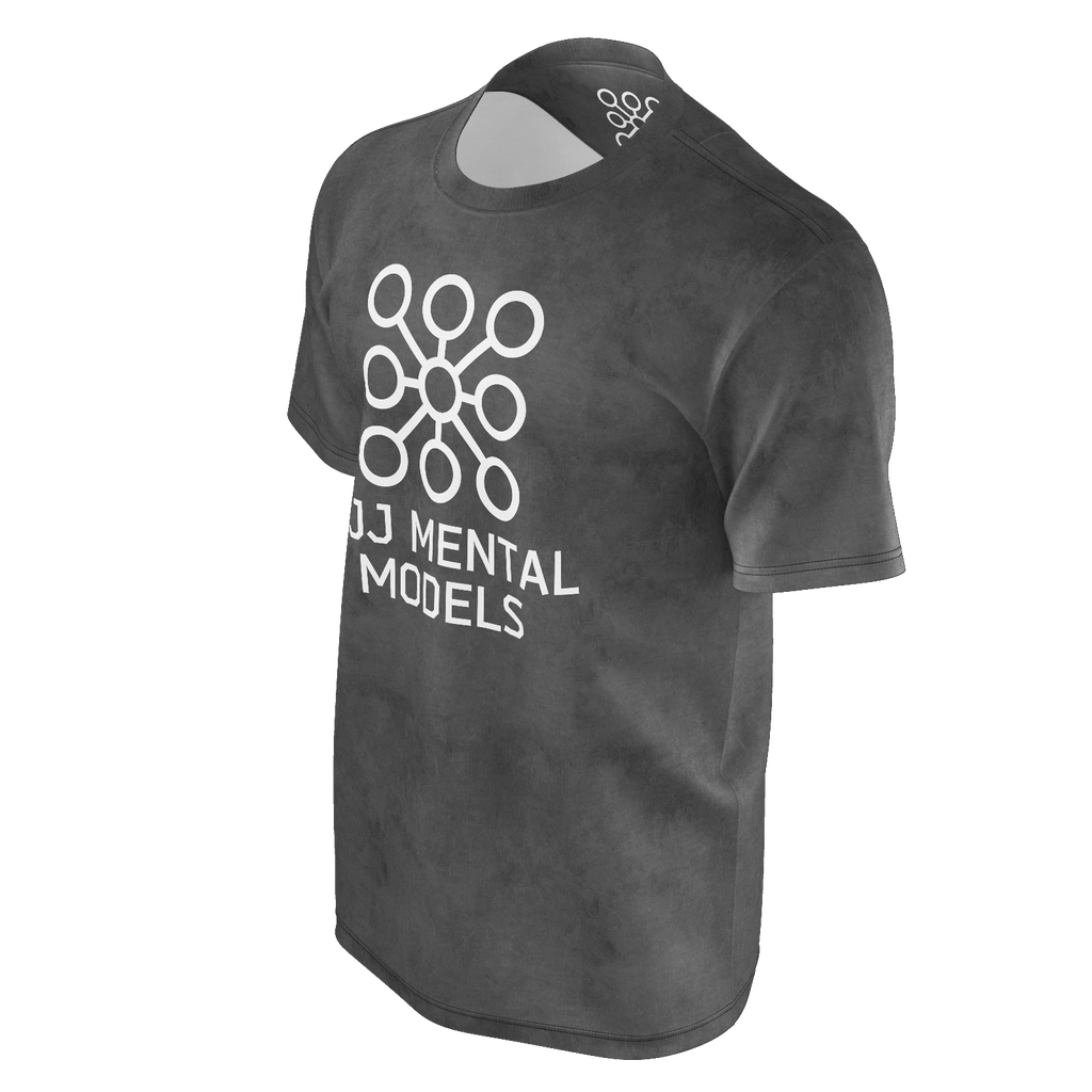 Men's grey logo shirt - recycled poly