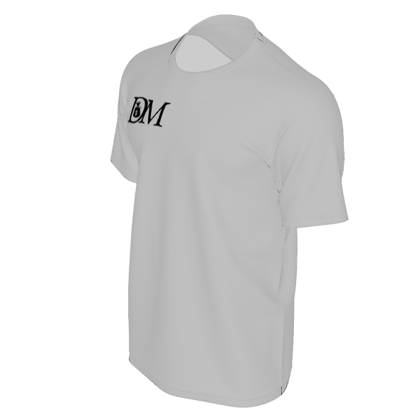 DIRTYMONEY LOGO TEE GREY/BLACK