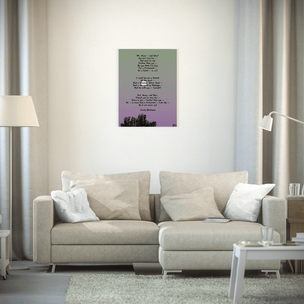Moon (Poem) Poster