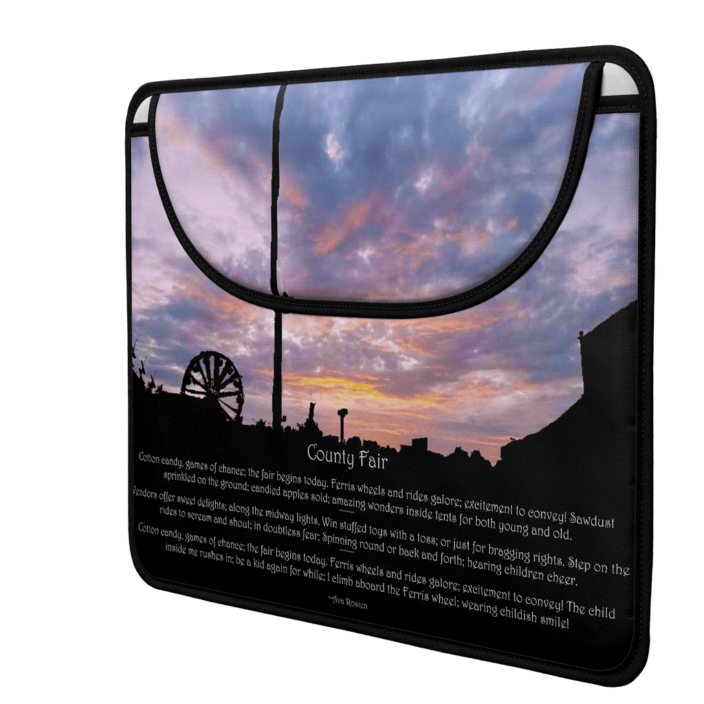 The Fair (Poem) Envelope Laptop Sleeve