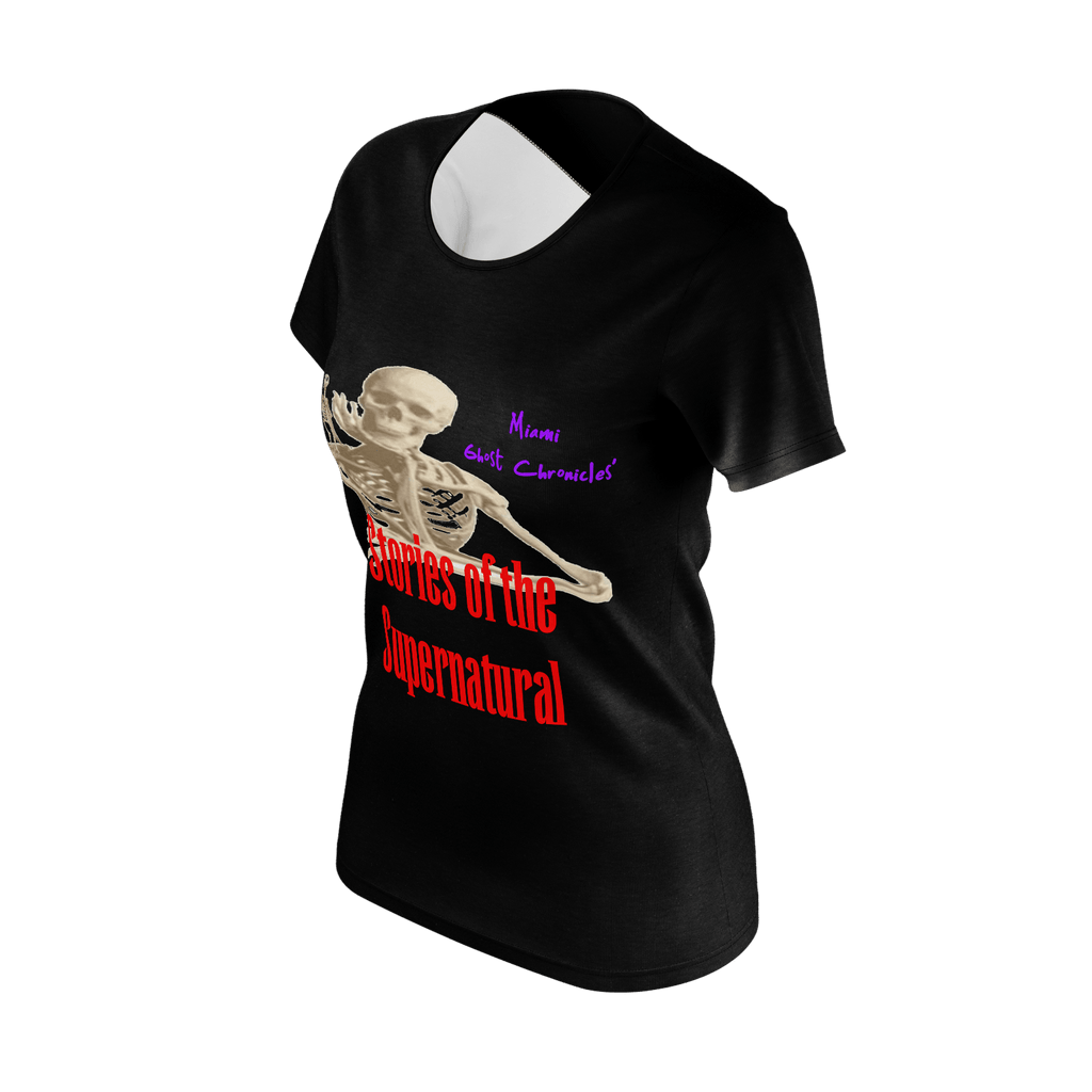 Stories of the Supernatural Black Woman's T-shirt