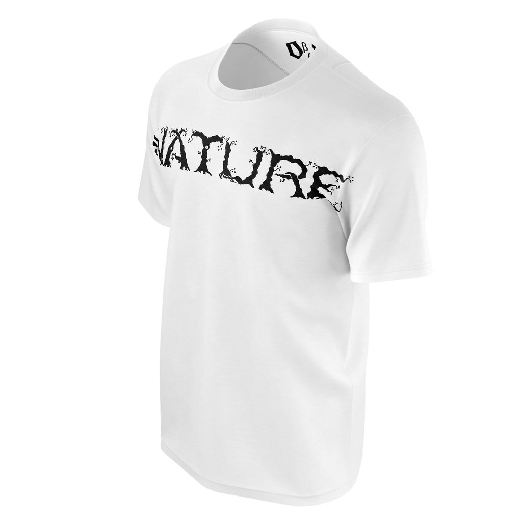 #Nature Men's T-Shirt (White)