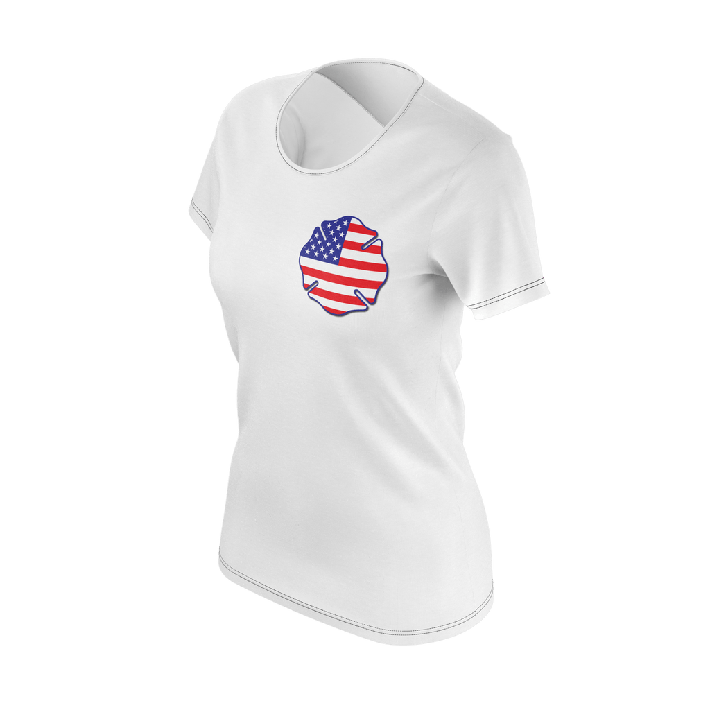 WOMENS USA FLAG SHIRT