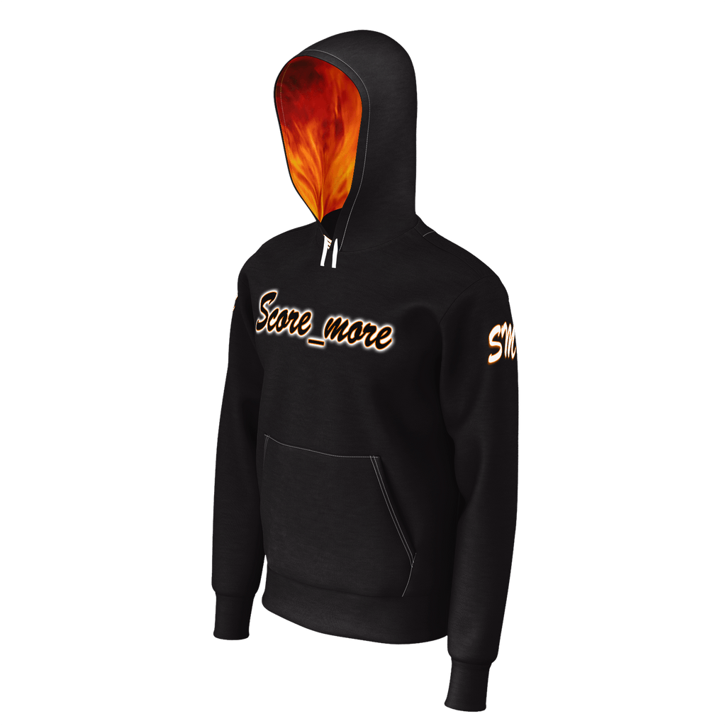 Mens Hoodie - Score_more Productions // Fire Edition
