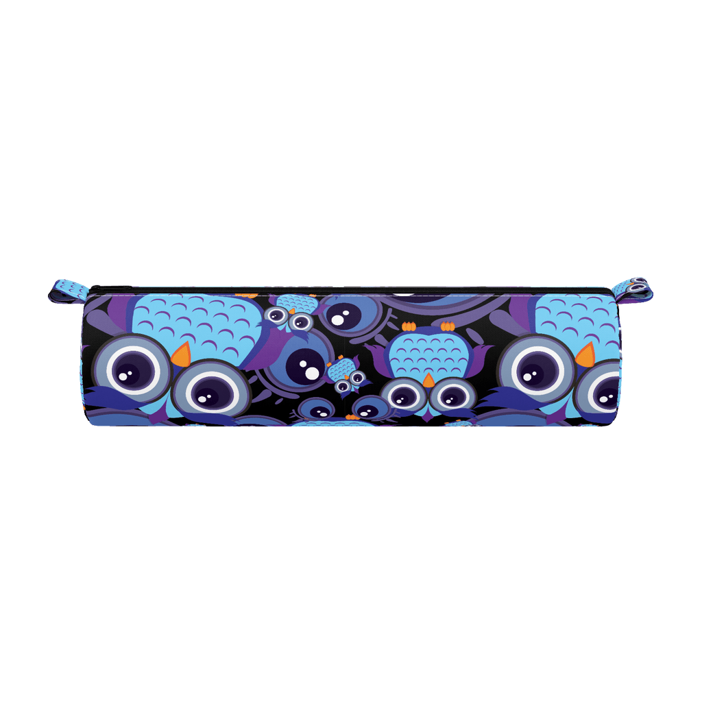 pencil case purple owl