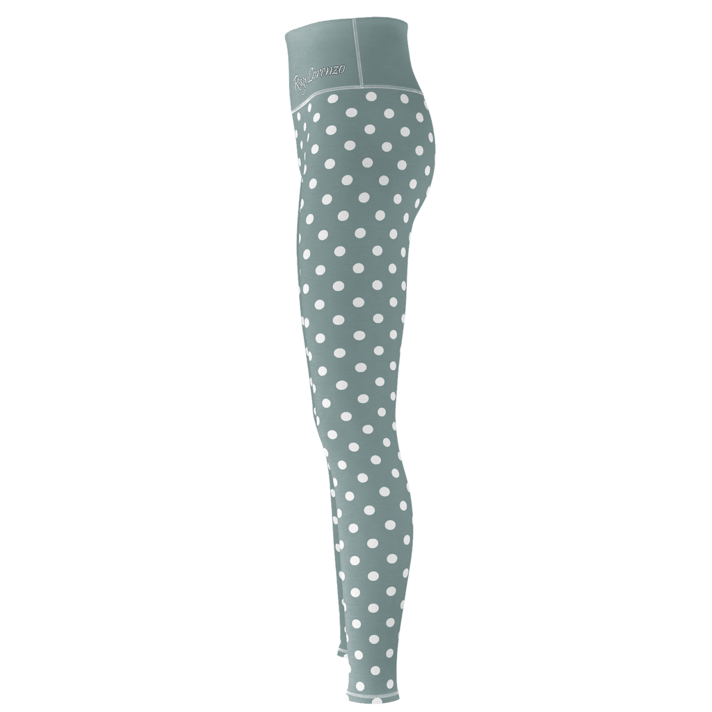 Polka Dot Yoga - Gray