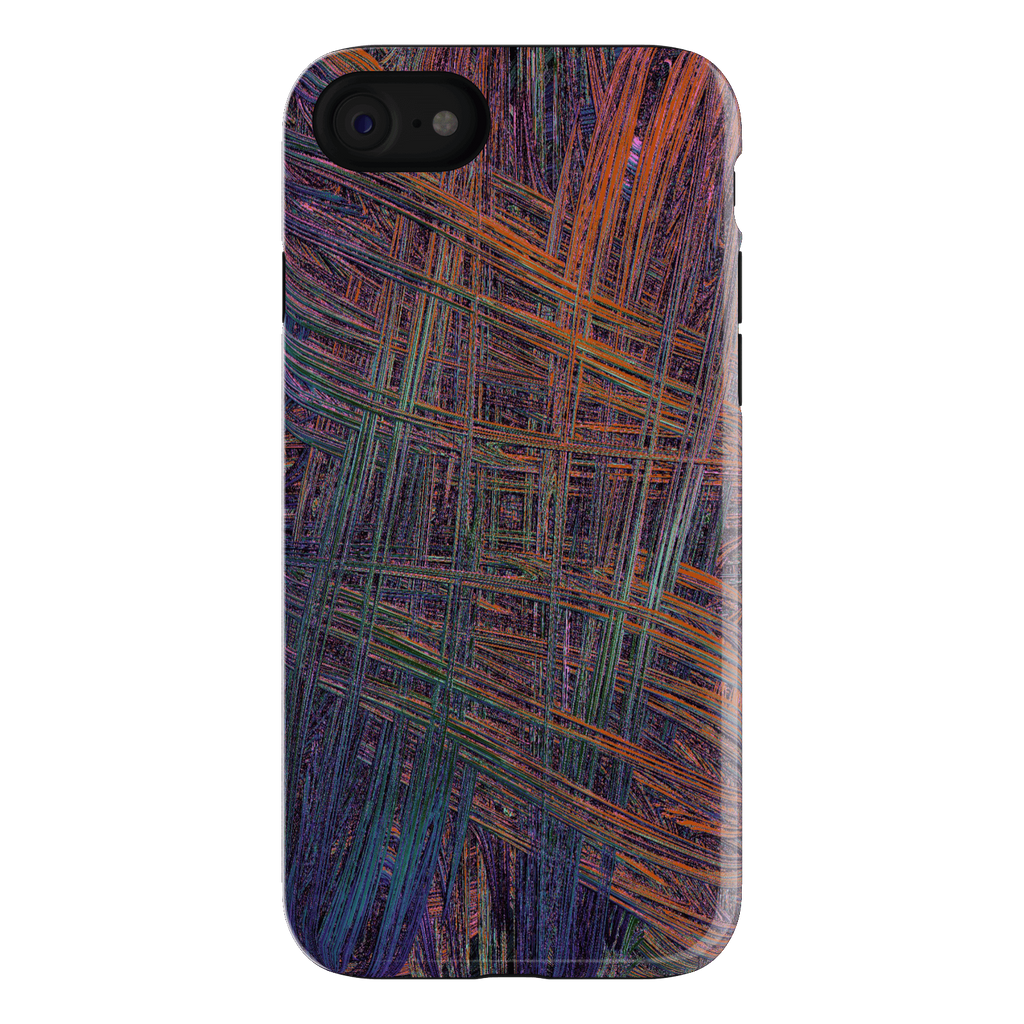 Colorful Crosshatch iPhone 7 Case