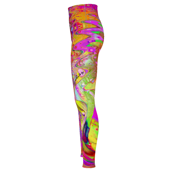 COLOR FAN 1 - Yoga Pants