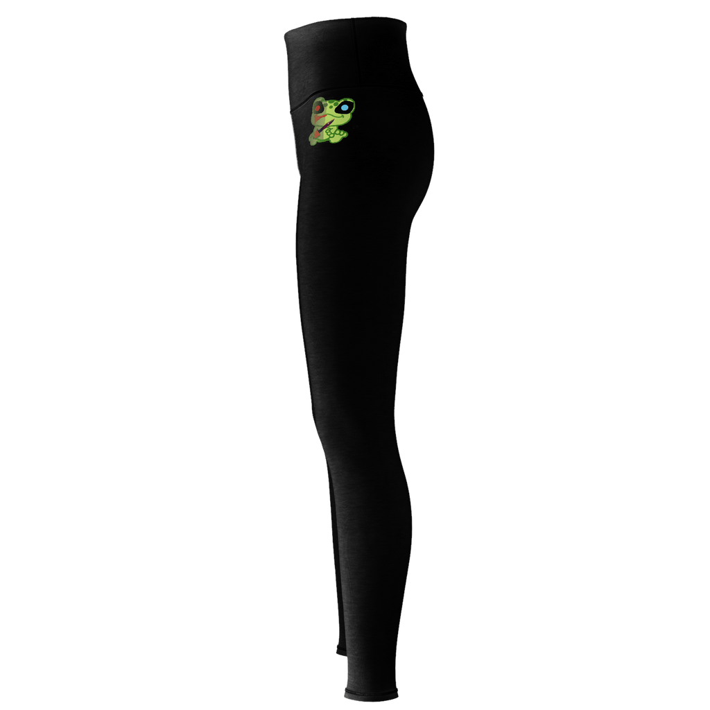 Froggy frog yoga pants