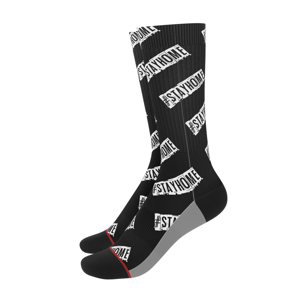 #StayHome Socks(Black)