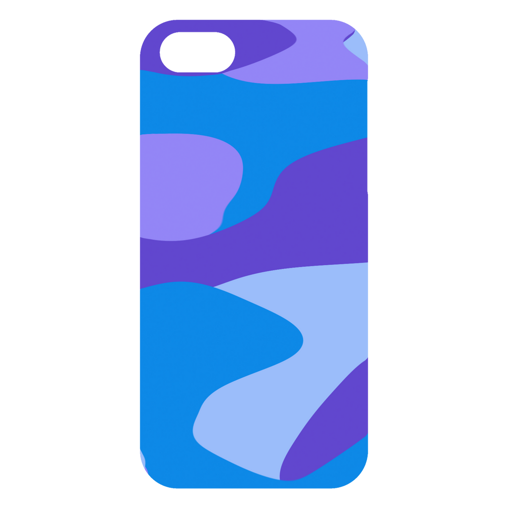 blue and purple camo