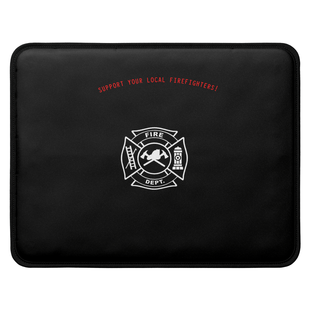 FIREFIGHTER SUPPORT LAPTOP SLEEVE