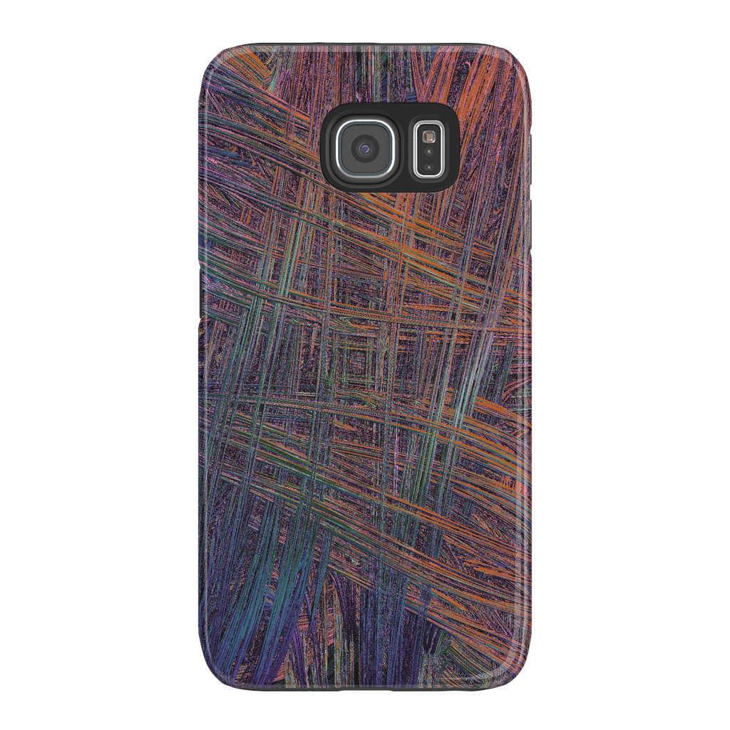 Colorful Crosshatch Samsung Galaxy S6 Tough Case