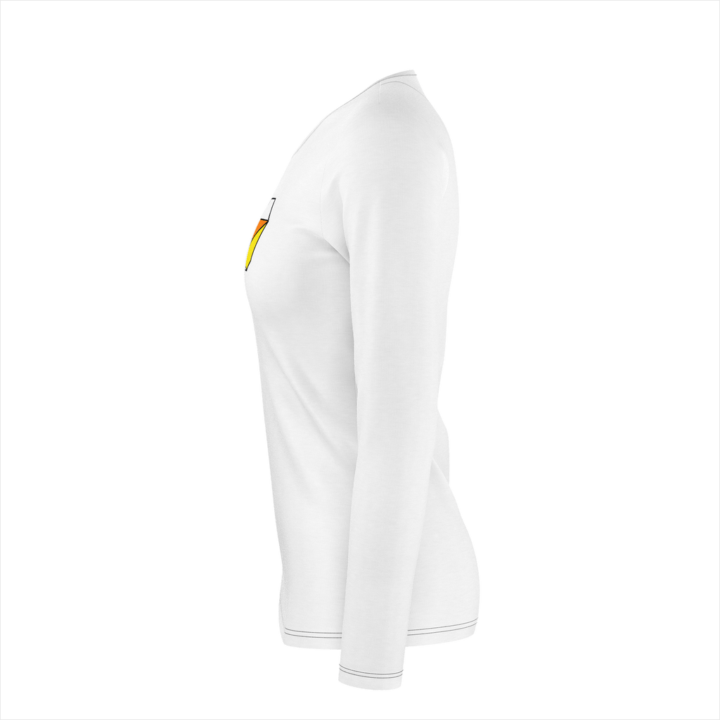 Womens Long Sleeve Shirt White