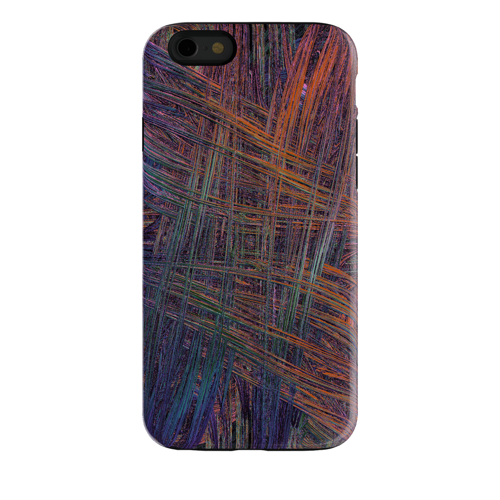 Colorful Crosshatch iPhone 6s Tough Case