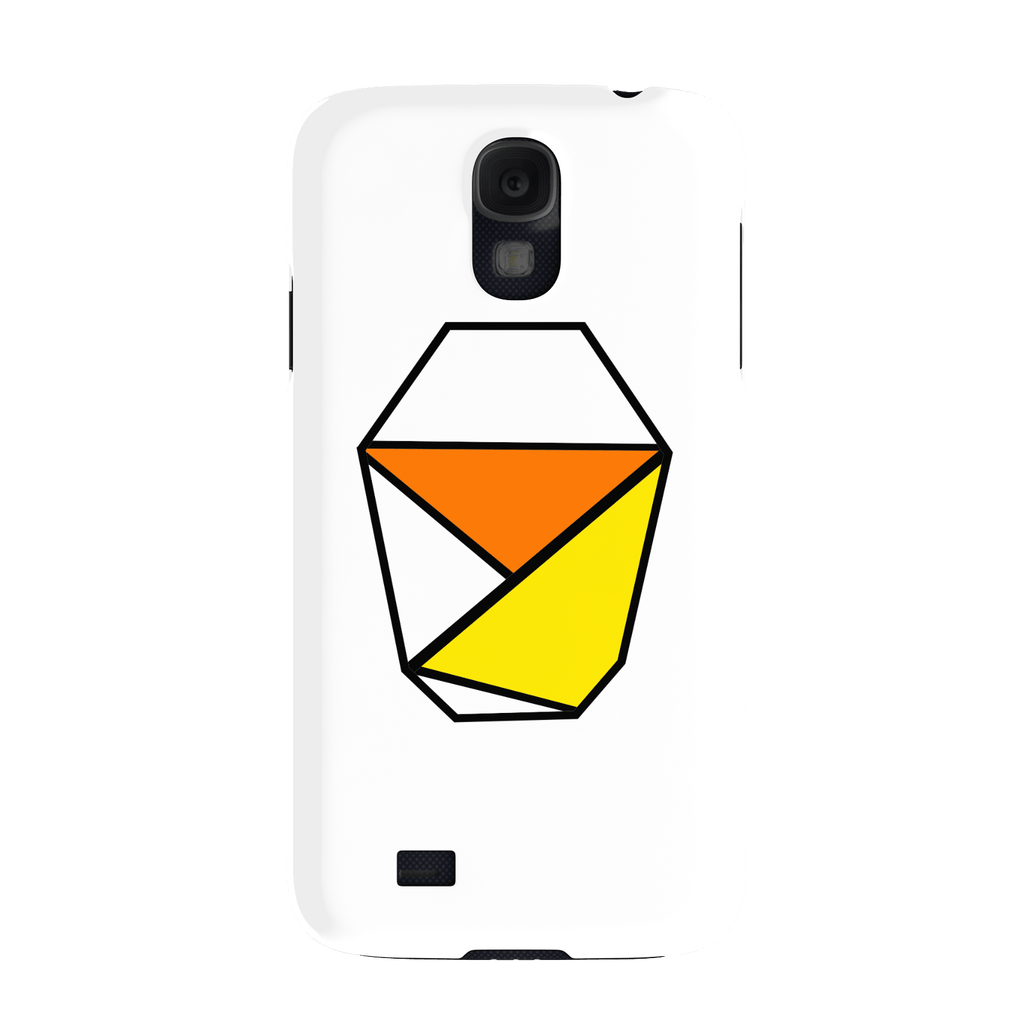 White Samsung Galaxy S4 Slim Case