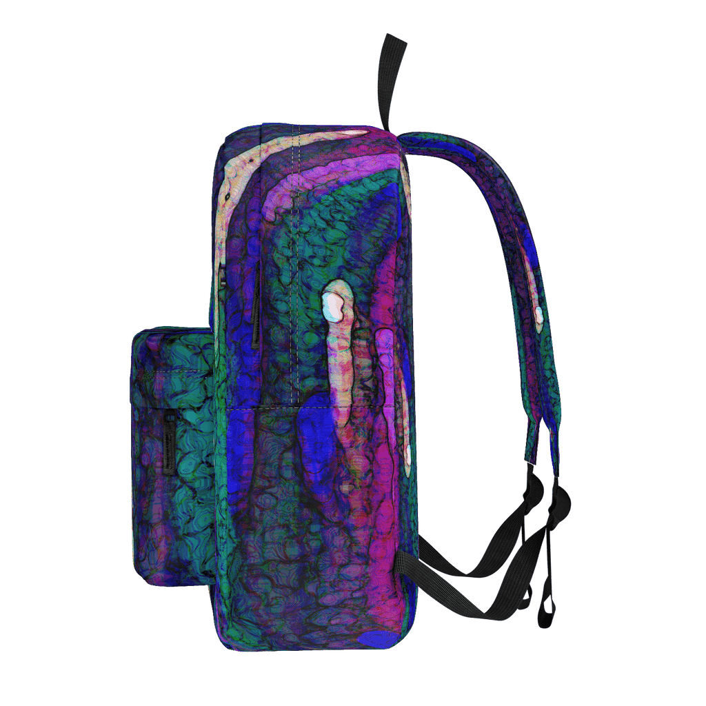 Purple Paint Daubs Classic Backpack