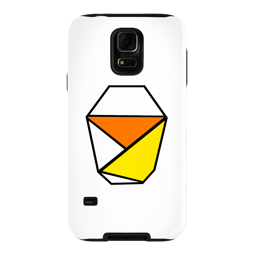 White Samsung Galaxy S5 Tough Case
