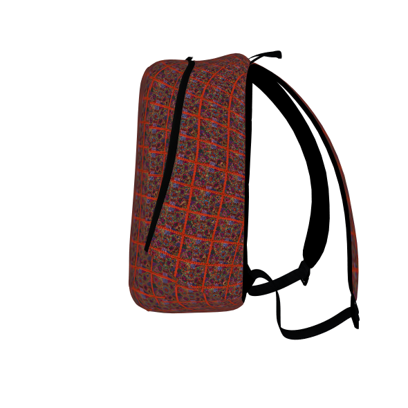 Kuna Mola Pattern  - Back Pack