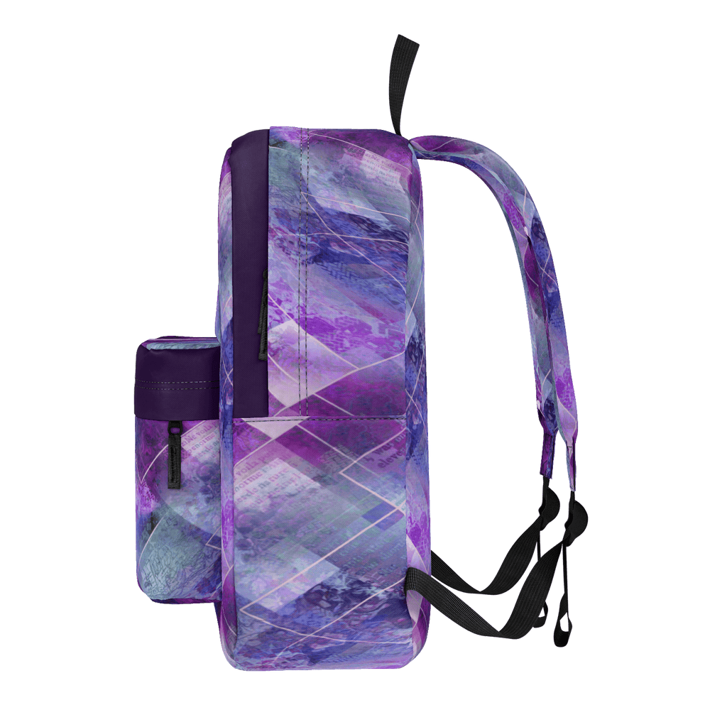 Marbleized Amethyst Backpack