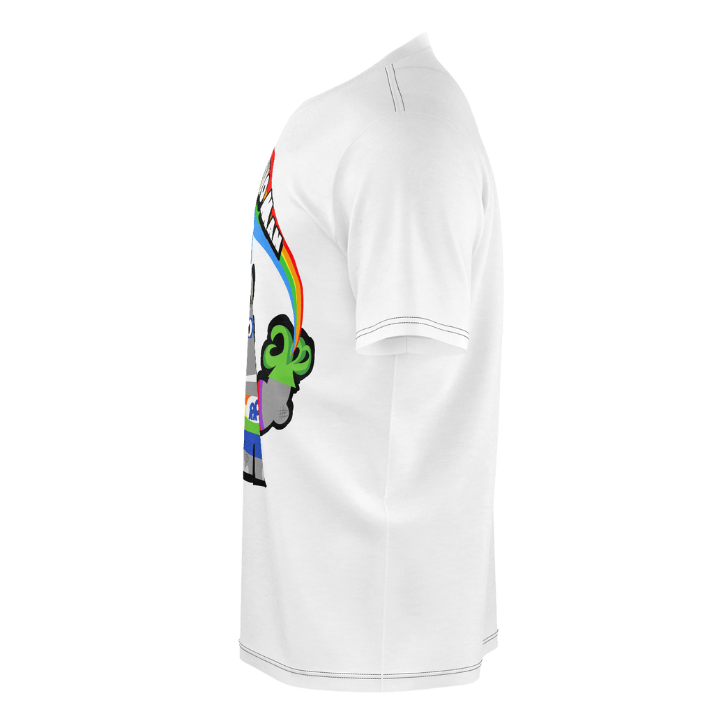 Rainbow Rhino Man (Mens)