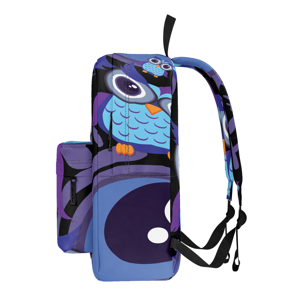 School Bus Aliens Backpack Owl