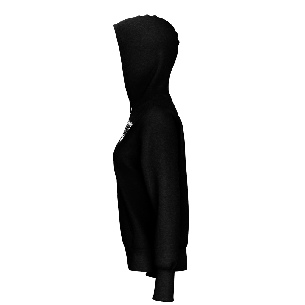 Wrench Womans Black Hoodie