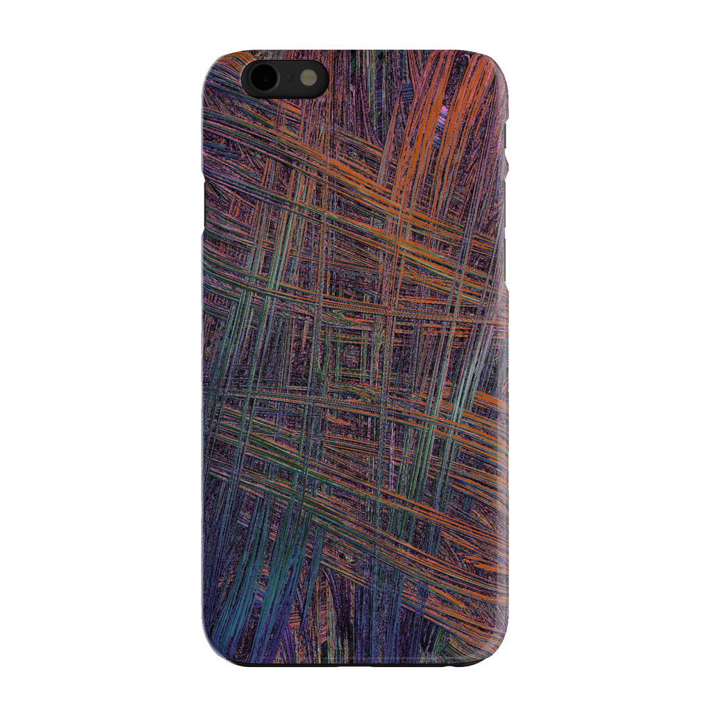 Colorful Crosshatch iPhone 6 Slim Case