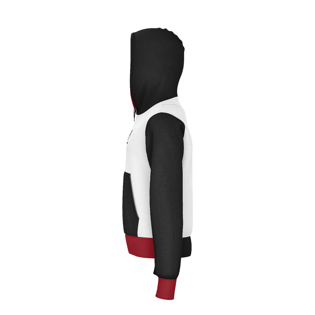 Black and Red Hoodie (Kids)