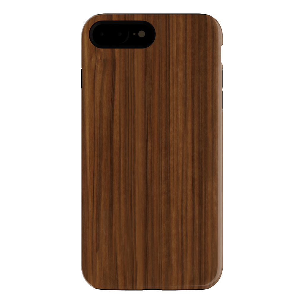 wood grain iphone 7+ case
