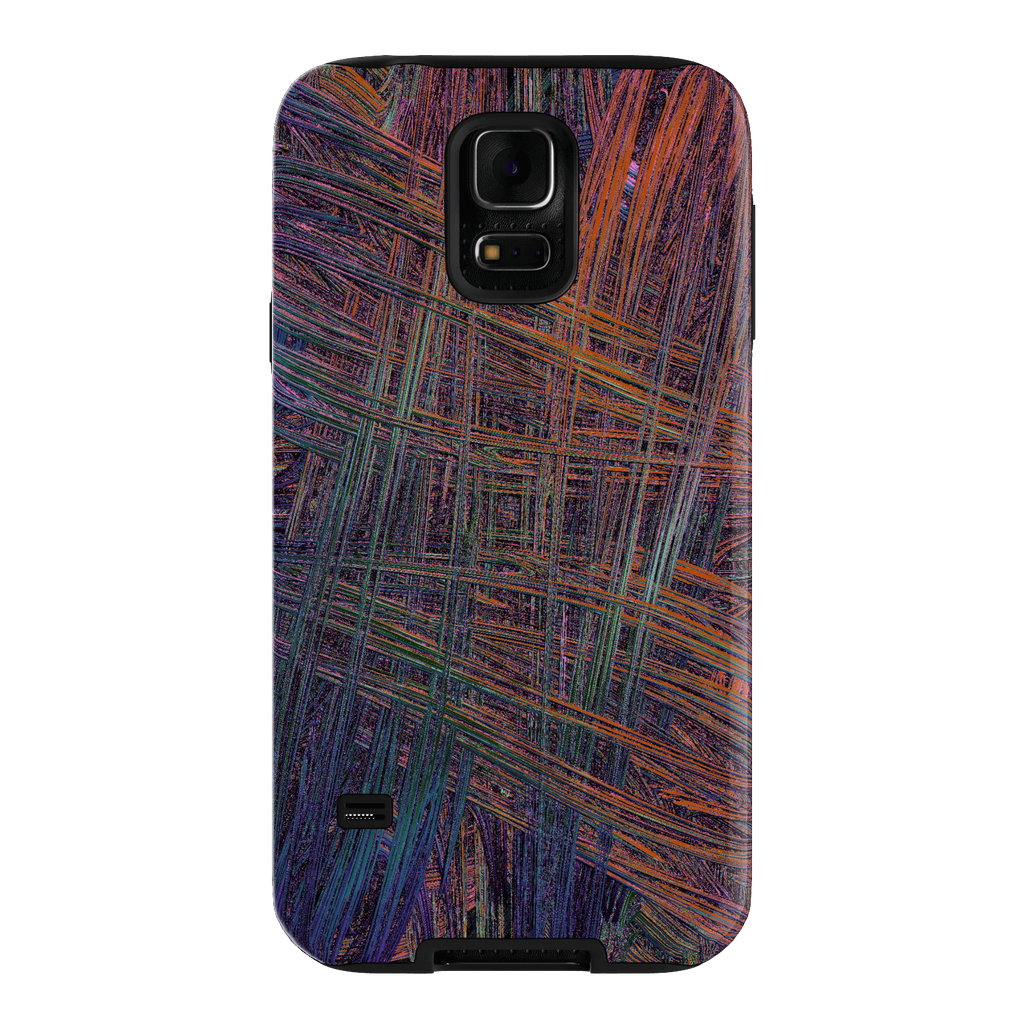 Colorful Crosshatch Samsung Galaxy S5 Tough Case