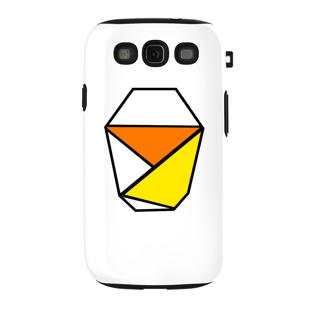 White Samsung Galaxy S3 Tough Case