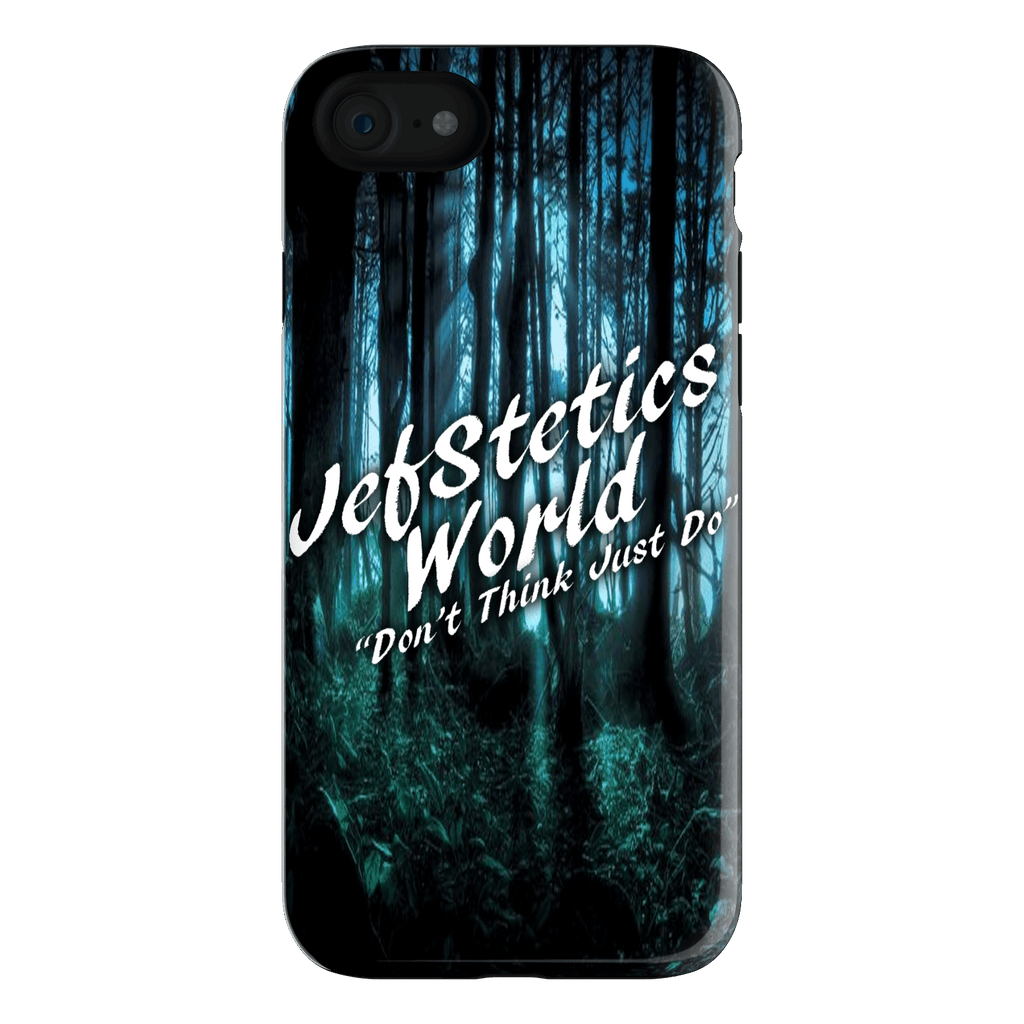 "JefStetics World ""Don't Think Just Do"" Iphone 7 Cover"