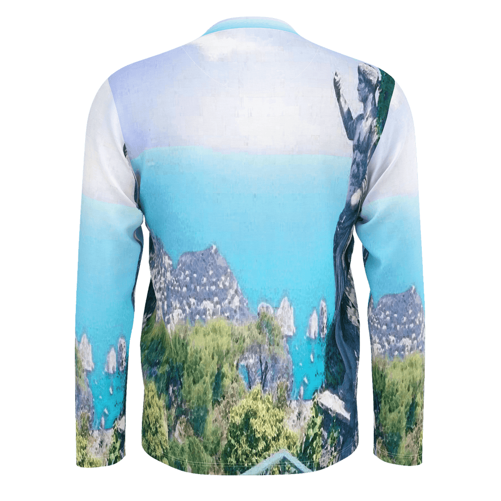 Capri, Italy Men's Long Sleeve SJ T-Shirt