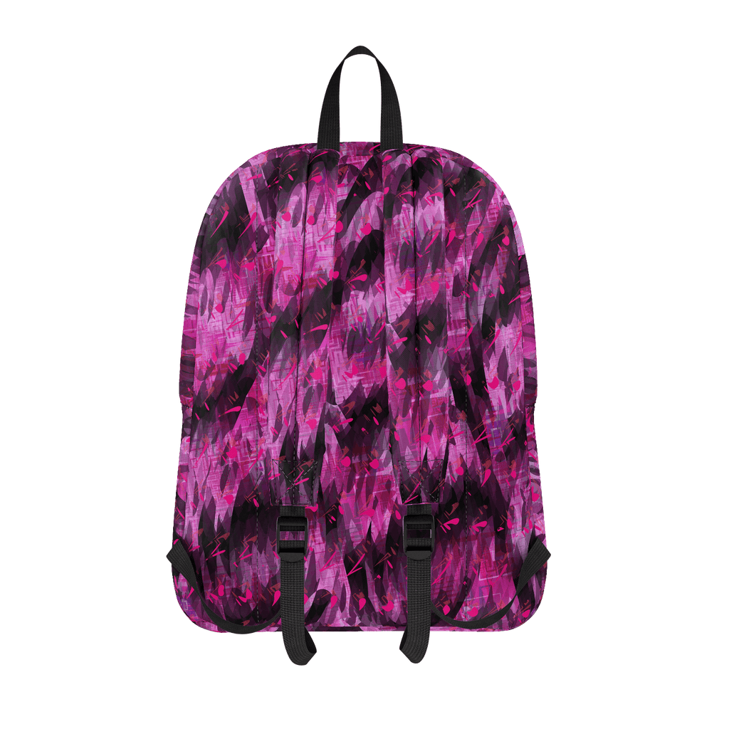 Hot Pink Punk Backpack