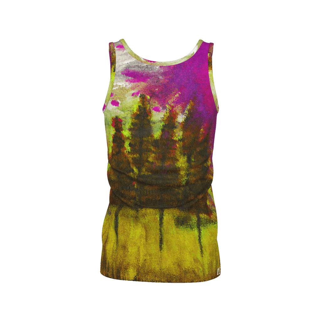 Yellow Forest Women's SJ Tank Top