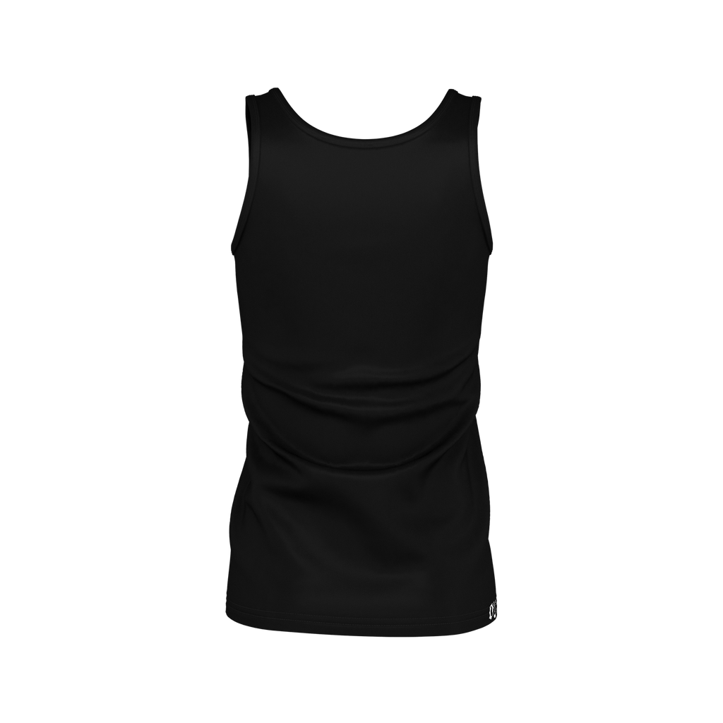 #StayHome Women's SJ Tank Top(Black 2)