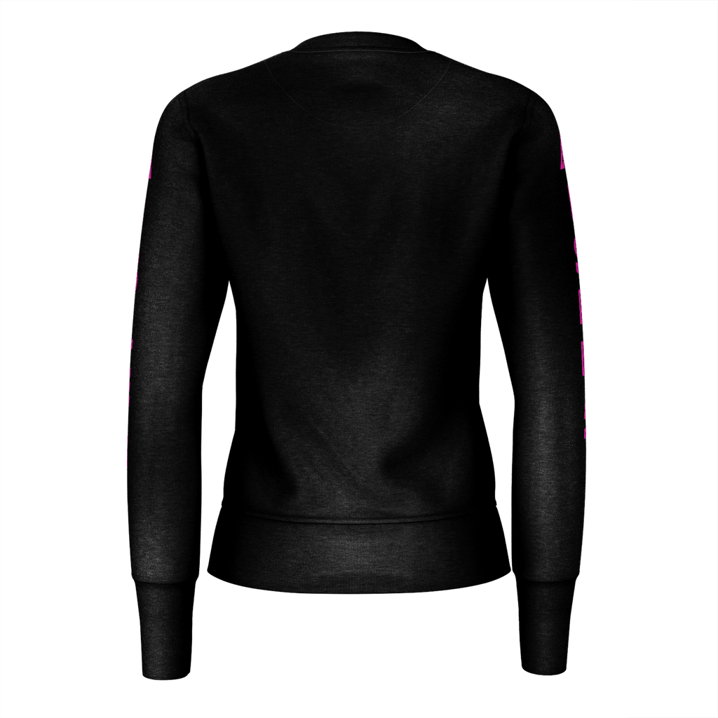 Black Pink Heart Sweater