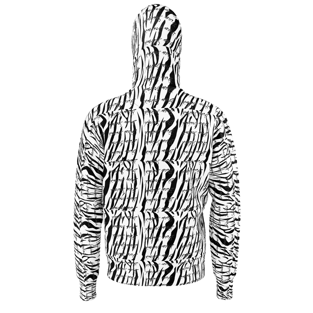 tiger stripped signature hoodie