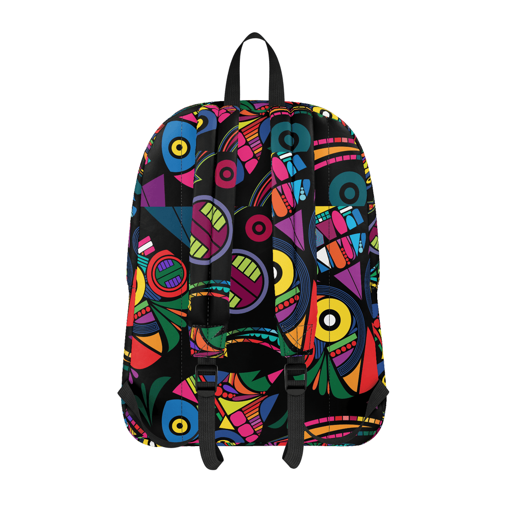 School Bus ALiens Backpack 32