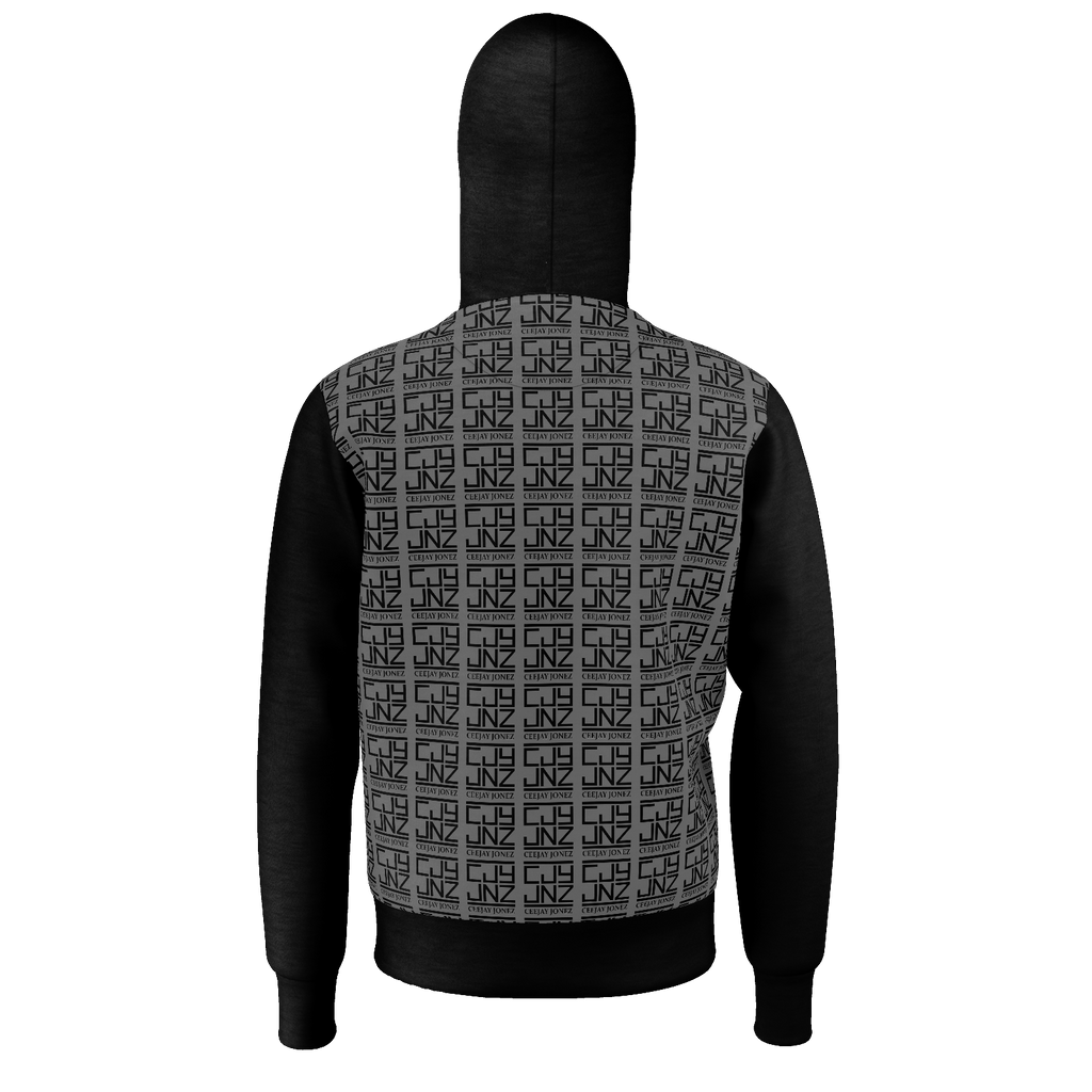 Black and Grey Hoodie