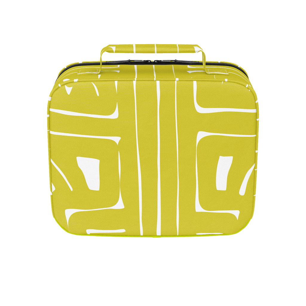 Yellow Abstract Lunchbox