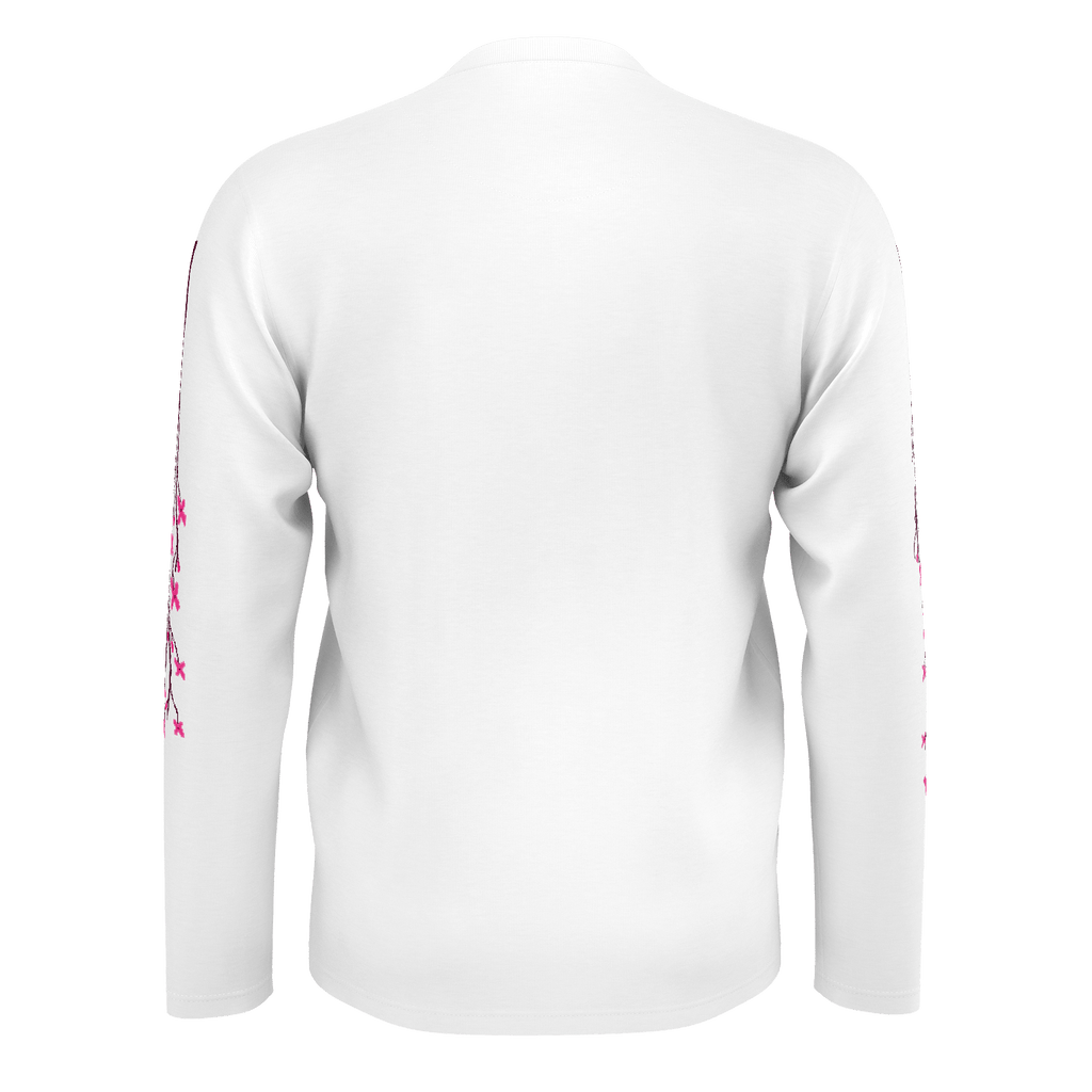 Pixel Long Sleeve (White)