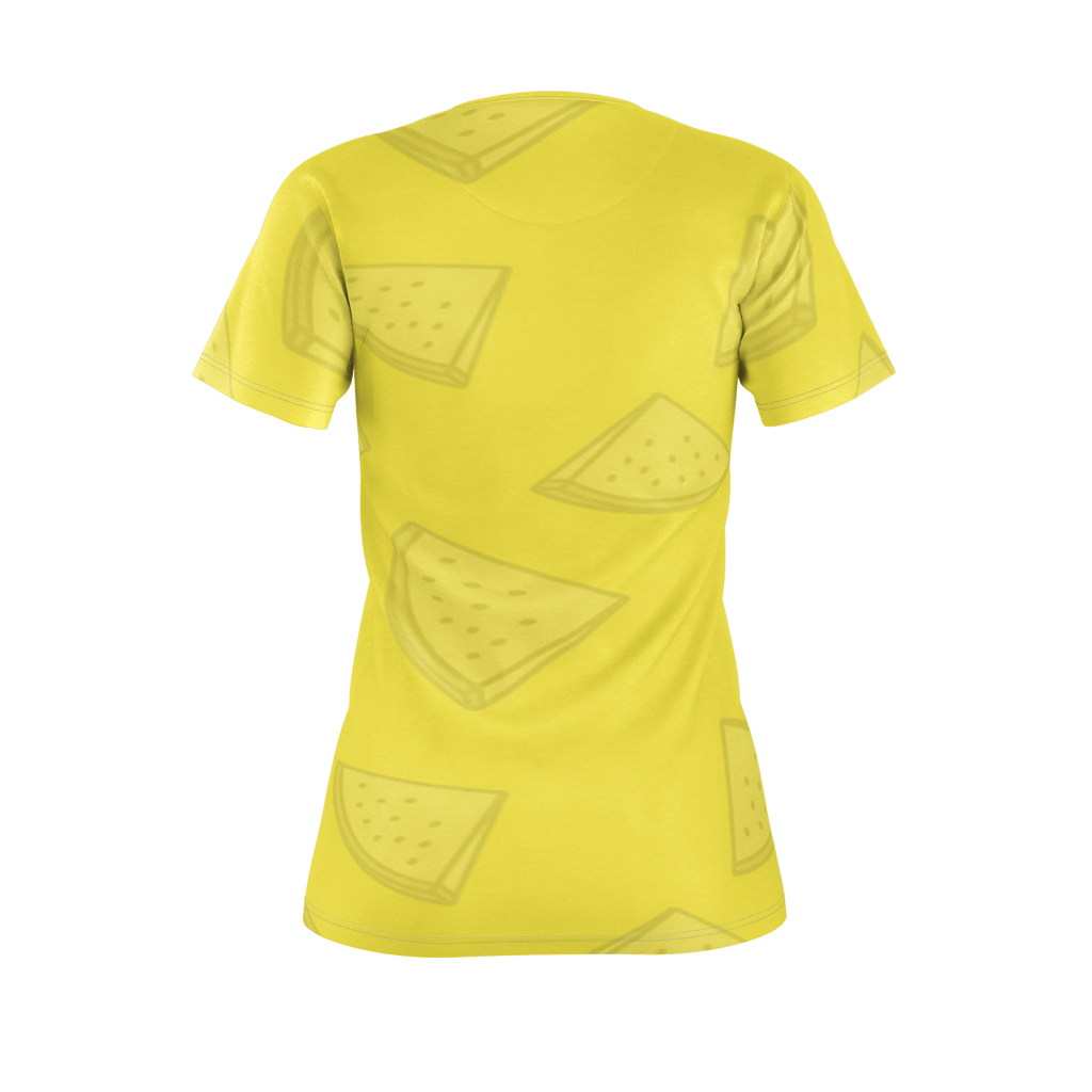 SUMMER T-SHIRT WOMEN YELLOW