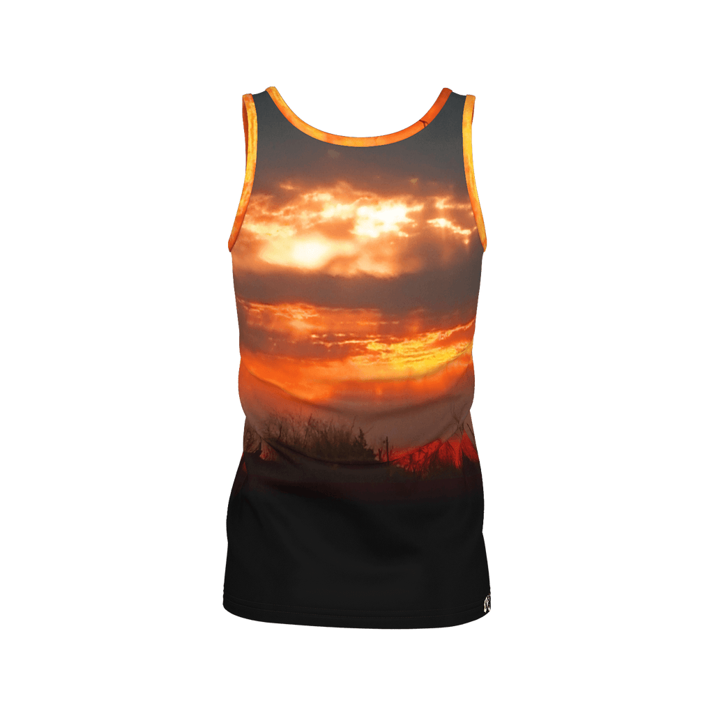 Red Sunrise Women's SJ Tank Top